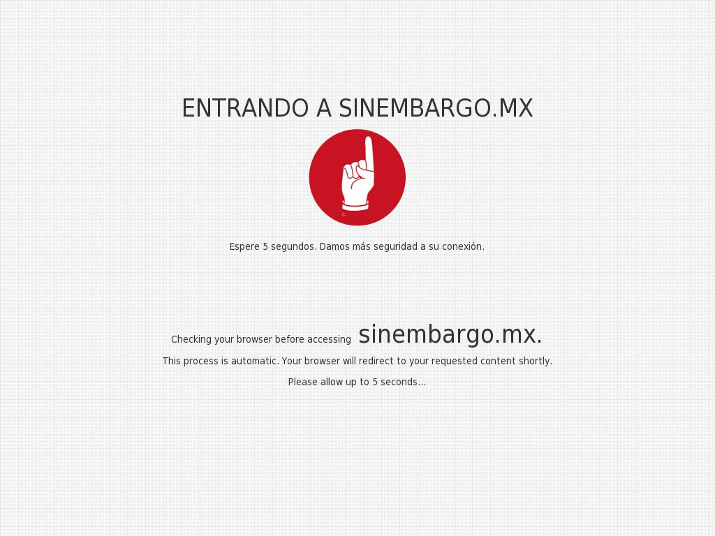 Sin Embargo at Sunday Jan. 7, 2018, 9:20 p.m. UTC