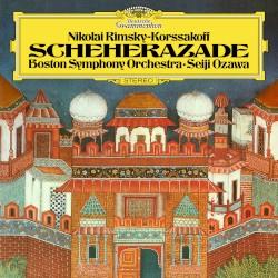 Rimsky‐Korsakov: Scheherazade, op. 35 / Bartók: Music for Strings, Percussion and Celesta, Sz. 106 by Rimsky‐Korsakov ,   Bartók ;   Boston Symphony Orchestra  &   Seiji Osawa