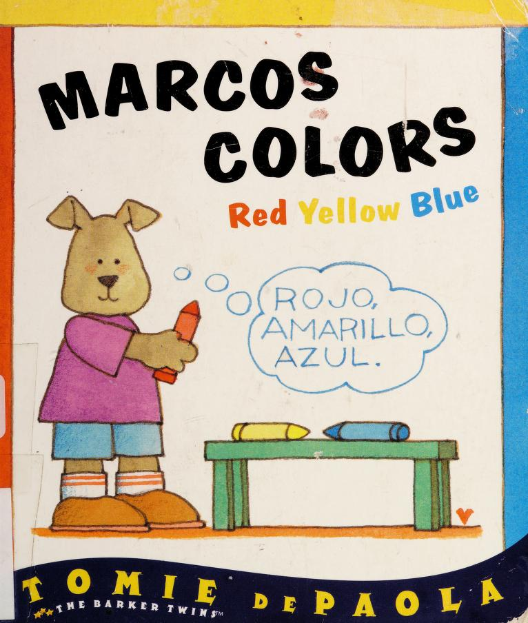 Marcos colors by Jean Little